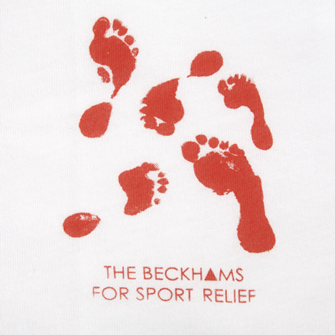 Beckham family design T-Shirts for Sports Relief 2an448