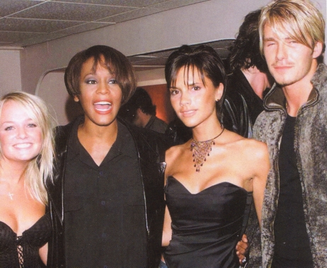 VB pictured with other celebrities 35