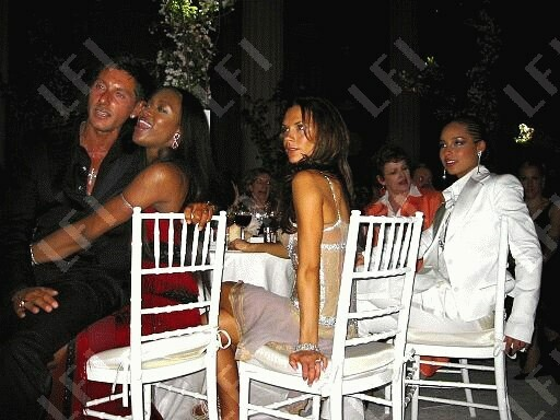 VB pictured with other celebrities Alicia%20keys