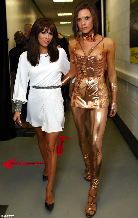 VB pictured with other celebrities Eva%20longoria