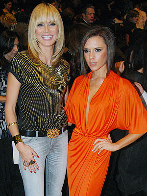 VB pictured with other celebrities Heidi%20klum