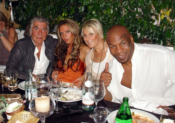 VB pictured with other celebrities Mike%20tyson